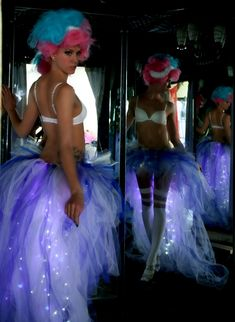 Light Up The Night LED Tutu. $150.00, via Etsy. -i think i found my bday outfit and i think i Vomit fabulous. .as.