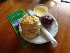 5 out of 5 for the A la Ronde scone!