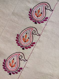 Hand Embroidery Patterns Flowers, Crochet Rug Patterns, Hand Embroidery Videos, Embroidery Stitches Tutorial, Hand Work Embroidery, Flower Embroidery Designs, Embroidery Techniques, Embroidery Kits, Phulkari Embroidery