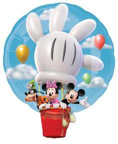 Disney Mickey Hot Air Balloon Jumbo Foil Balloon, 85419