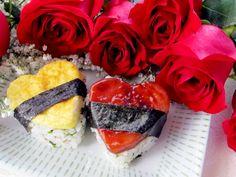 Heart Shaped Spam Musubi. True Hawaiian romance!