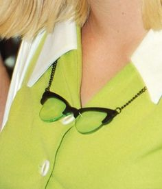 "Tatty Devine ""Glasses"" necklace"