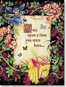 Once upon a time, you were born... {what's your story?}
