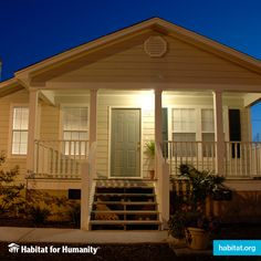 #DidYouKnow: #HabitatforHumanity #homeowners pay an affordable mortgage on the homes they help build, like this one in Bay St. Louis, Mississippi?