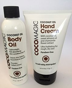 Kit Cocomagic Body Oil  Hand Cream Aceite Coco Dry Skin Piel Seca Crema Cuerpo -- You can find more details by visiting the image link.