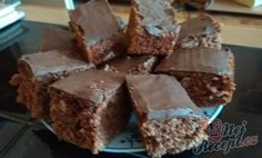 Perník z kofoly s čoko polevou | NejRecept.cz Fudge, Cannabis Edibles, Chocolate Protein, Food And Drink, Low Carb, Pudding, Baking, Healthy, Cake