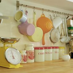 colorful, feminine kitchen