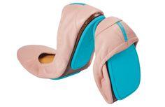 Ballerina Pink Tieks by Gavrieli Tieks Ballet Flats, Leather Ballet Flats, Tieks By Gavrieli, Ballerina Pink, Ballerina Shoes, Travel Style, Travel Fashion, Sock Shoes, Beautiful Shoes