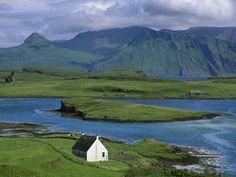 Farm Cottage, Canna Island, Inner Hebrides, Scotland