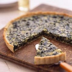 Goat cheese gives this tart a fine, velvety texture. The recipe comes from Judy Schad at Indiana's Capriole Farmstead Goat Cheeses.
