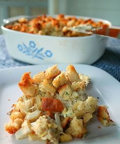 This is my Grandmother's recipe for Crab Casserole. So comforting and delicious. I am so glad she shared this recipe for all of us! Crab Casserole, Seafood Casserole Recipes, Crab Cake Recipes, Slow Cooker Casserole, Stuffing Casserole, Fish Recipes, Seafood Recipes, Beef Recipes, Cooking Recipes