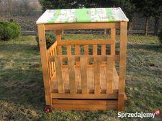 Piaskownica Piaskownice drewniana ogrodowa domek Zabawki ogrodowe Ziębice