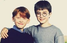 Ron & Harry // Harry Potter