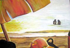 """""""Dia de Sol"""" - Acrílico. Projeto """"Pousada Vila das Velas"""". Dezembro 2005."""