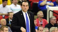 Mike Krzyzewski's classy gesture after Duke's loss to Mercer