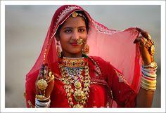 ~ Rajput beauty ~  by Abmdsudi on www.TrekEarth.com West India, Rajasthan, Bikaner-Thar Desert-Ladera Copyright: abmdsudi abmdsudi
