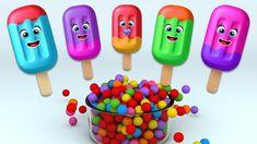 Ice Cream Finger Family Rhyme with Surprise Eggs and Color Balls Finger Family Rhymes, Family Songs, Stephen Covey, Balls, Ice Cream, Eggs, Color, No Churn Ice Cream, Icecream Craft