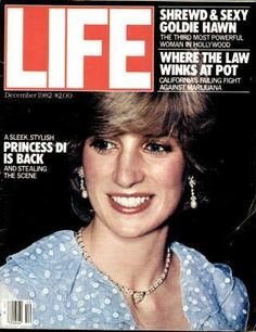 """Princess Diana ~ Dec. 1, 1982 issue ~ Old Life Magazines ~ Click image to purchase. Enter """"pinterest"""" at checkout for a 12% discount."""