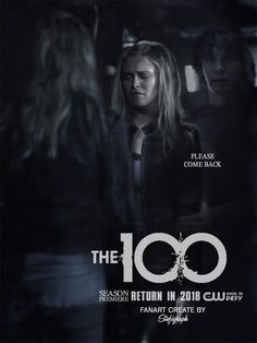 Bellarke- (fanart) the 100 the 100 season 5 Eliza Taylor, The Cw Shows, Tv Shows, The 100 Poster, Art Love Couple, Never Let Me Down, Bellarke, Katniss Everdeen, Old Love