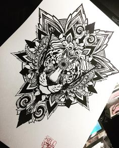 Done #artwork for my new banner and merch.! #wacomtattooteam #blackwork