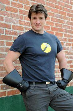 Captain Hammer...Nathan Fillion