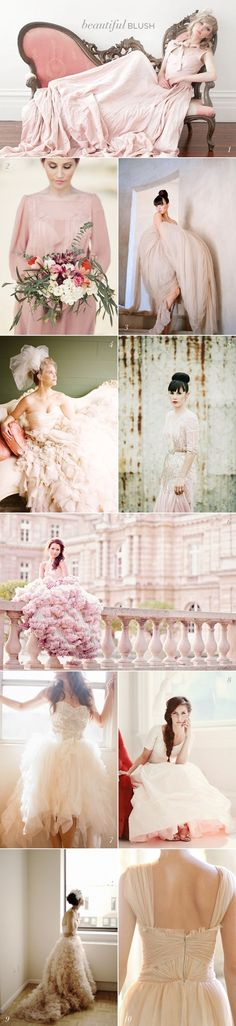 I know I'm young but what girl doesn't dream of her wedding! I love most of these but I wouldn't wear most of them :) I like puffy!