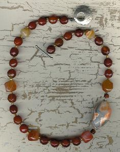 It Was Fascination - Agate, Carnelian, Freshwater Pearls, Sterling Silver Necklace Sterling Silver Necklaces, Silver Jewelry, Silver Beads, Silver Earrings, Etsy Jewelry, Jewellery, Handmade Shop, Decoration, Gifts For Her