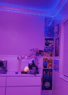 I want the led lights to put in the room so they can light the room up at night