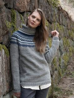 Nordic Yarns and Design since 1928 Knitwear, Turtle Neck, Pullover, Knitting, Knits, Pattern, Sweaters, How To Make, Stuff To Buy