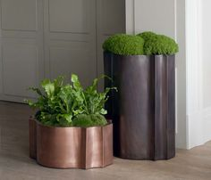 A beautiful set of pots from Bronzino which you will find at the fair.