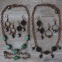 *Tropical Nights* mini collection from Vagabond & Myth #summerstyle #upcycled #bohemian