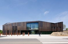 Museum Of The Franco-Prussian War Of 1870 And The Annexation, Gravelotte, France with brass cladding. Halle, Metal Cladding, Architecture Awards, Museum, France, Brass, Copper, Exterior, Building