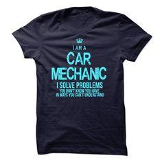 I am a Car Mechanic T Shirts, Hoodie. Shopping Online Now ==► https://www.sunfrog.com/LifeStyle/I-am-a-Car-Mechanic-17826307-Guys.html?41382