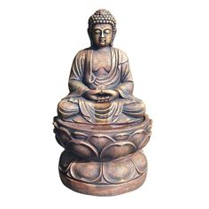 ORE International 29 in. Large Buddha Fountain-RD-WXF00319 - The Home Depot
