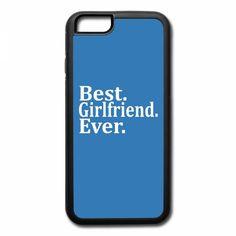 best girlfriend ever t shirt design 1 iPhone 7 Case