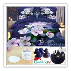"""""""Beddinginn Sale"""" by elly-852 ❤ liked on Polyvore featuring interior, interiors, interior design, home, home decor, interior decorating and Anja"""