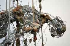 Robert Michael Jones is a contemporary metal sculptor. His electric sculpting style brings to life characters of his own making that are both exciting and thought provoking. Abstract Sculpture, Sculpture Art, Sculptures, Concrete Sculpture, Bronze Sculpture, Waste Art, Ocean Projects, Metal Fabrication, Land Art