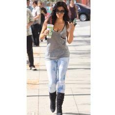 #tbt Kim Kardashian in her #erinkleinberg studded pocket tank. #thateklife cc @intermixonline