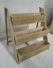 3 tier Step Planter / Decking Planter / Flowers / Herbs