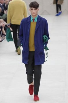 Burberry Prorsum Menswear Spring Summer 2014 London via http://  nwf.sh/1aoFAG6