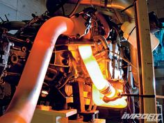 Turbo Charged Boxer motor