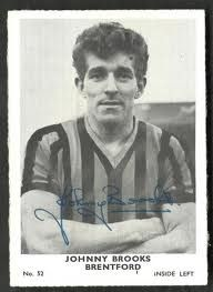 Johnny Brooks Brentford. Played from 1961-1963. He made 83 appearances scoring 36 goals.