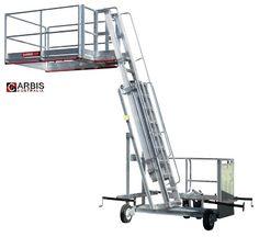 X Deck Safety Work Platform Hybrid Ladder Scaffold