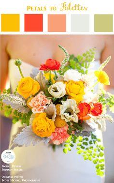 Summer Wedding Bouquet | Petals to Palettes 15 - KnotsVilla