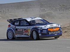 Hyundai Veloster rallycross car