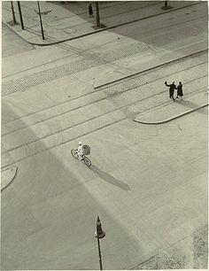 © László Moholy-Nagy : Painter & Photographer (American, born Hungary 1895–1946) 7 A.M.(New Year's Morning) ca.1930