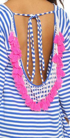 SUNDRESS Indiana Stripe Short Beach Dress | SHOPBOP