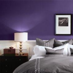 schlafzimmer streichen ideen flieder pastellgelb | Ideen rund ums ...