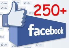 give you 250+ facebook likes for your facebook fan... for $2