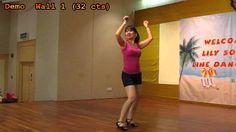 Line Dance: Copacabana (Teach & Demo)